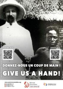 Campagne choc : DONNEZ-NOUS UN COUP DE MAIN !