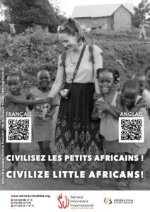 Campagne choc : civilisez les petits africains !